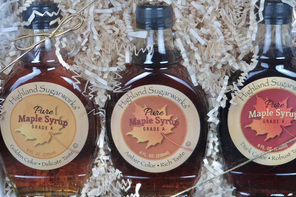 Highland Sugarworks Maple Trio Gift Box