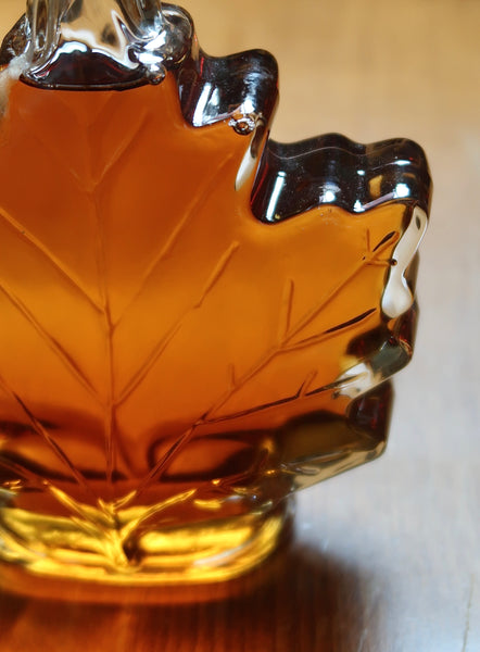 Highland Sugarworks Leaf Bottle Maple Syrup
