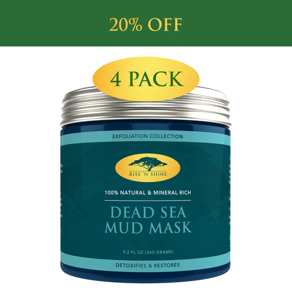 (9.2 Oz) Dead Sea Mud Mask For Face And Body - 100% Natural Spa Quality