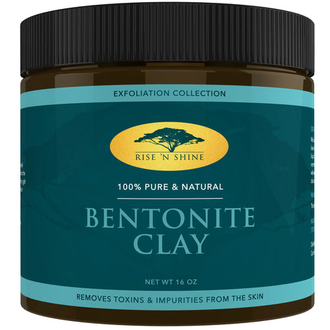 Clay - (16 Oz) Bentonite Clay Powder - Pure Sodium Bentonite From Wyoming