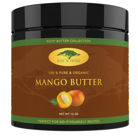 Do-It-Yourself Ingredients - (16 Oz) Raw Mango Butter - Soap Making, Lotion, Shampoo And Hand Cream