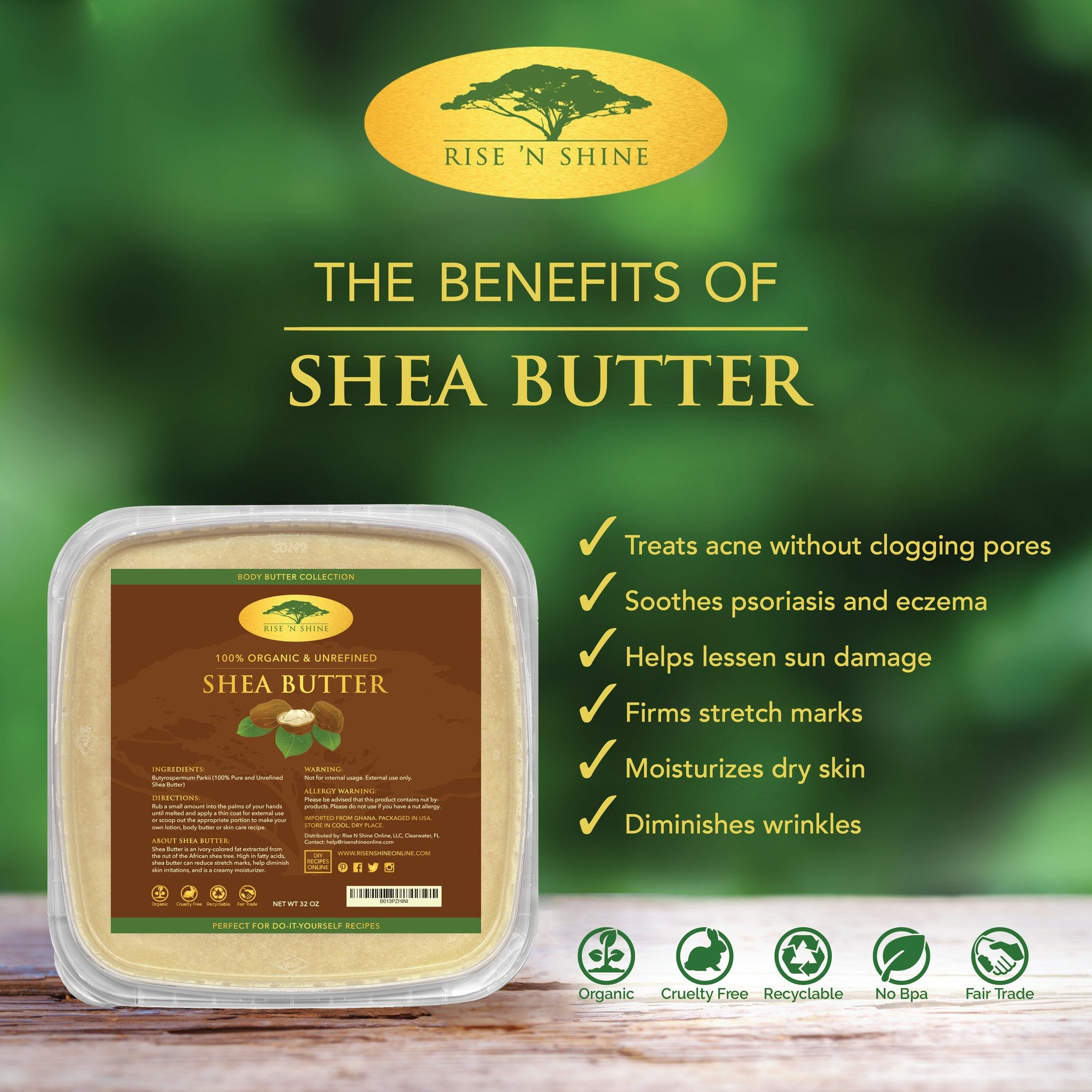 32 oz bulk raw shea butter soap making lotion shampoo and hand do it yourself ingredients 32 oz bulk raw shea butter solutioingenieria Image collections