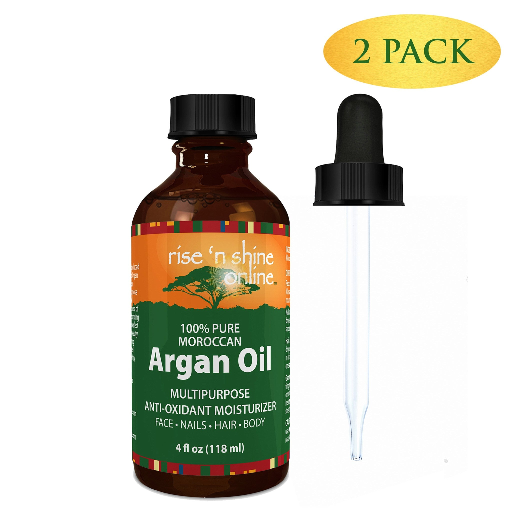 4 oz pure argan oil for skin best for hair skin and nails rise do it yourself ingredients 4 oz pure argan oil for skin solutioingenieria Gallery