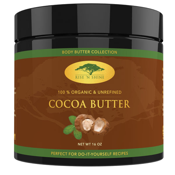 Do-It-Yourself Ingredients - Body Butter Bundle - (16 Oz) Cocoa Butter & (16 Oz) Shea Butter