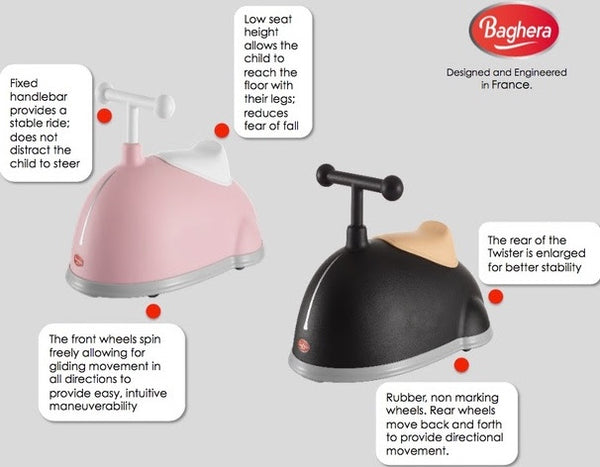 Baghera Twister Product Features