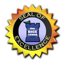 The Dice Tower Seal of Excellence Winner