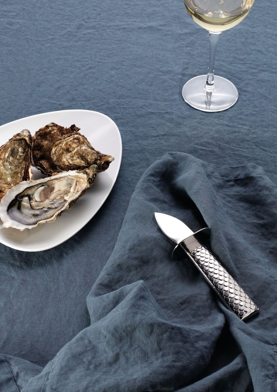 Alessi, Colombina Oyster Knife, - Placewares
