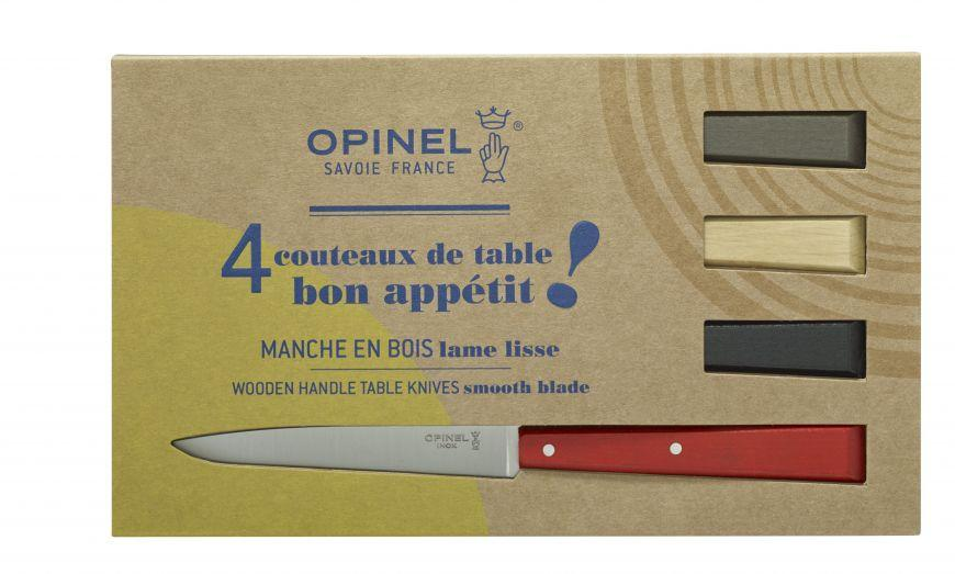 "Opinel, Opinel ""Bon Appetit!"" Table Knives, Set/4, - Placewares"