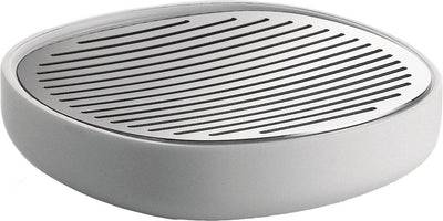 Alessi, Birillo soap dish, White- Placewares
