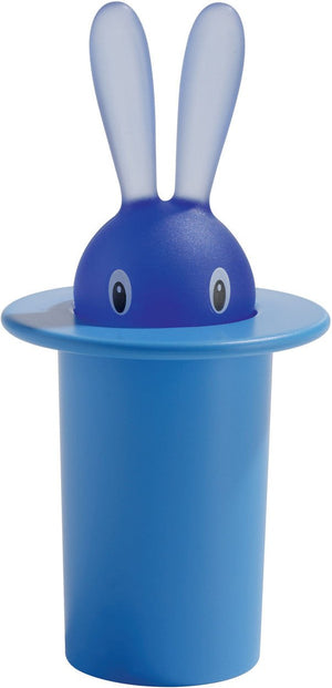 Alessi, Magic Bunny toothpick holder, Blue- Placewares
