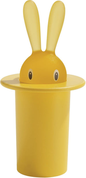 Alessi, Magic Bunny toothpick holder, Yellow- Placewares