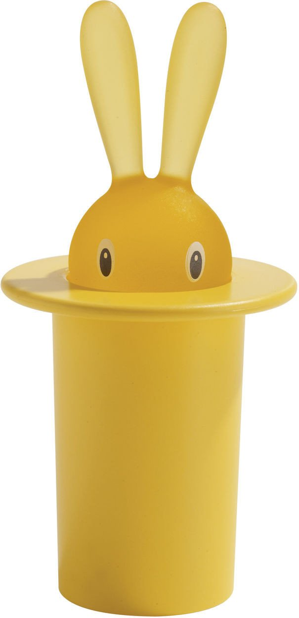Alessi, Magic Bunny toothpick holder, Black- Placewares