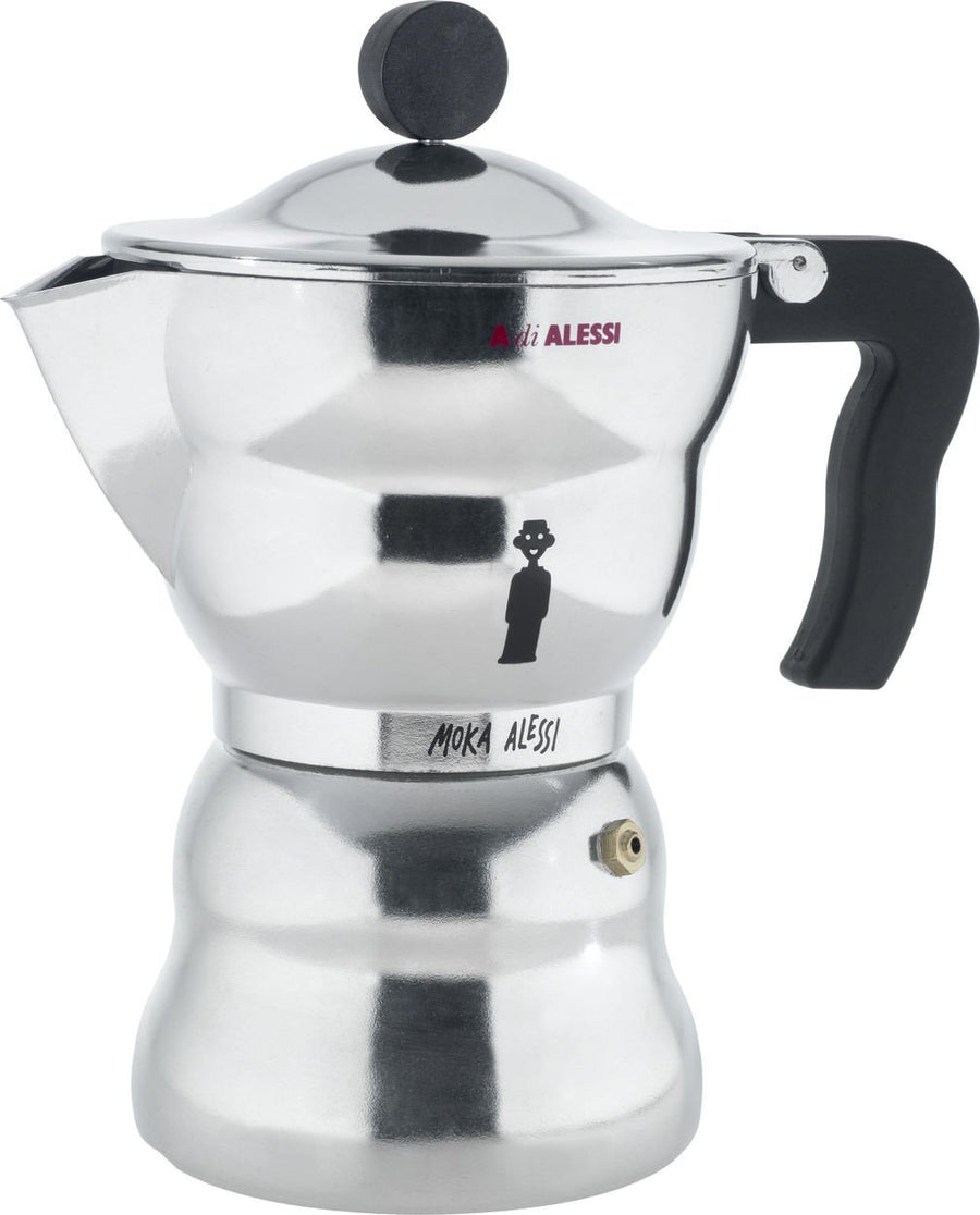 Alessi, Moka Alessi Espresso Coffee Maker - multiple sizes, 5.25 oz- Placewares