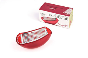 Alessi, Parmenide cheese grater with cellar - Multiple colors, - Placewares