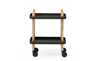 Normann Copenhagen, Block Table - multiple colors, Black- Placewares