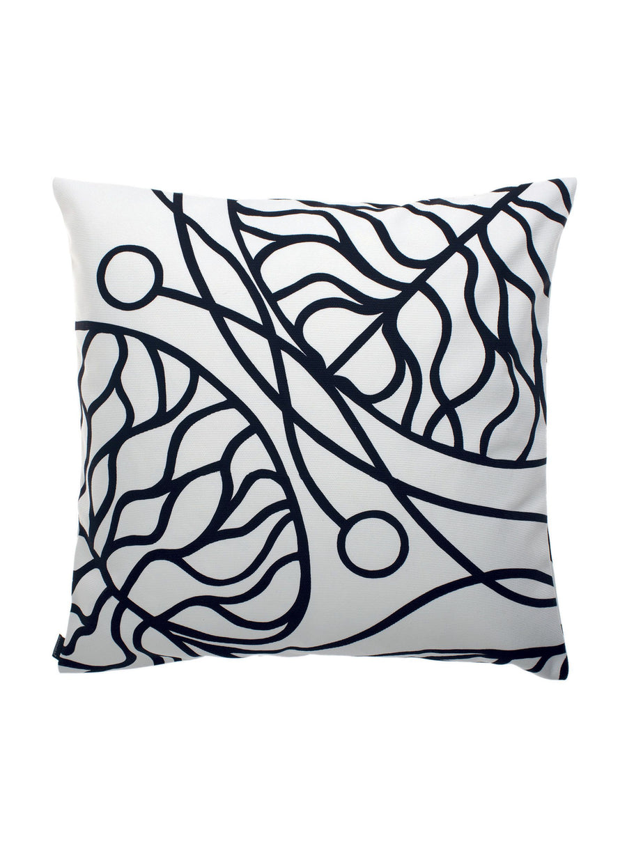 Marimekko, Bottna Cushion Cover, White/Black- Placewares