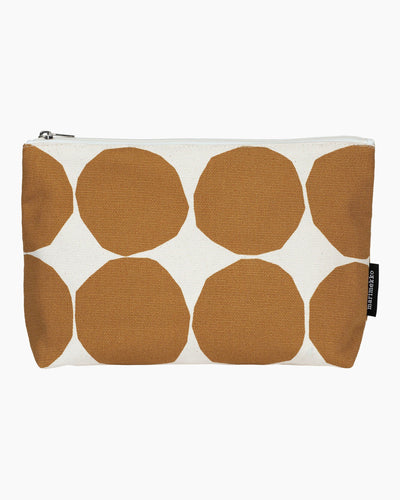 Marimekko, Relle Pienet Kivet Cosmetic Bag, Cotton/ Beige / One size- Placewares