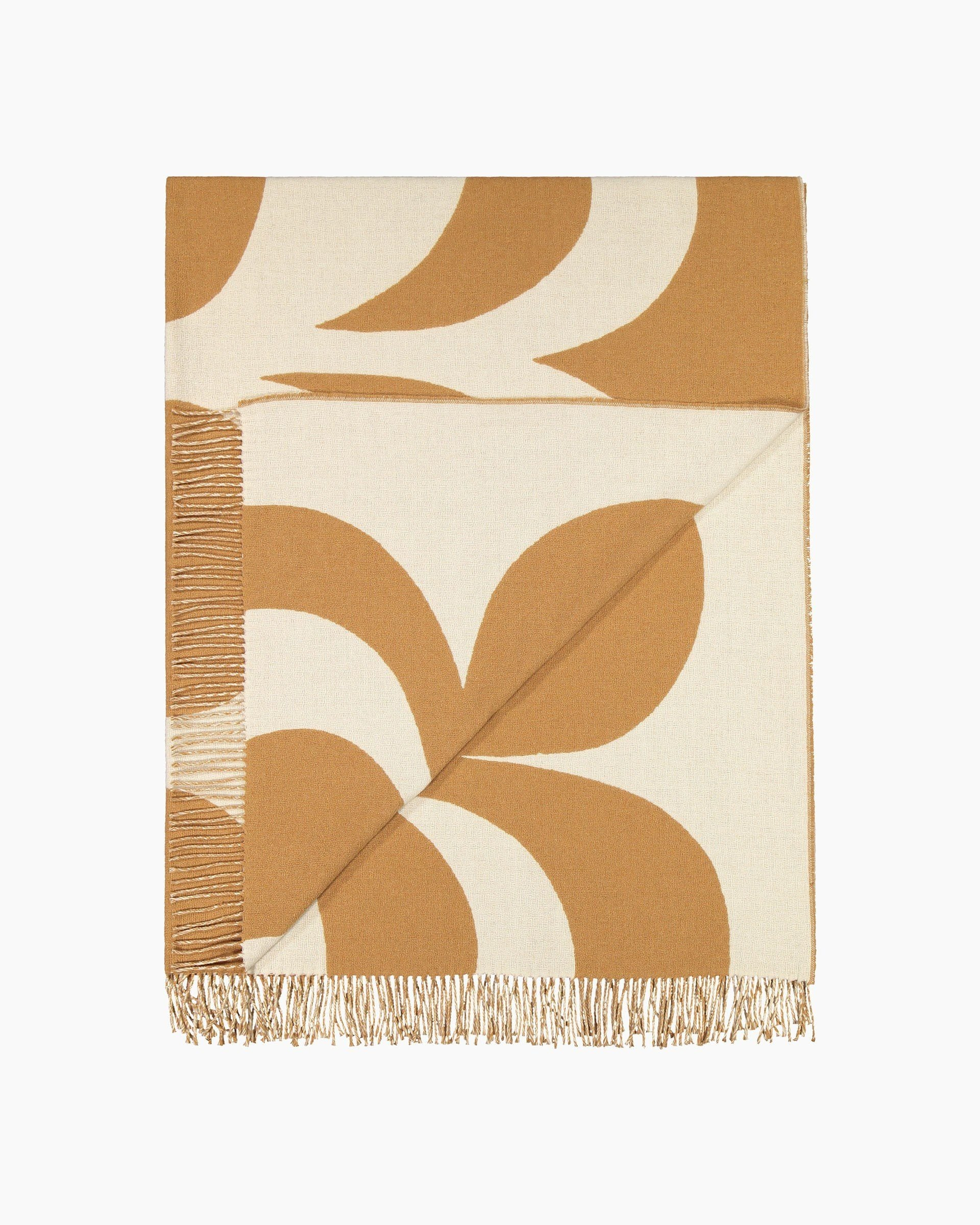 Marimekko, Kaivo  Blanket, Off-White/ Beige / One size- Placewares