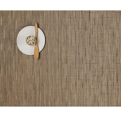 Chilewich, Bamboo Placemat - rectangle, assorted colors, Camel- Placewares