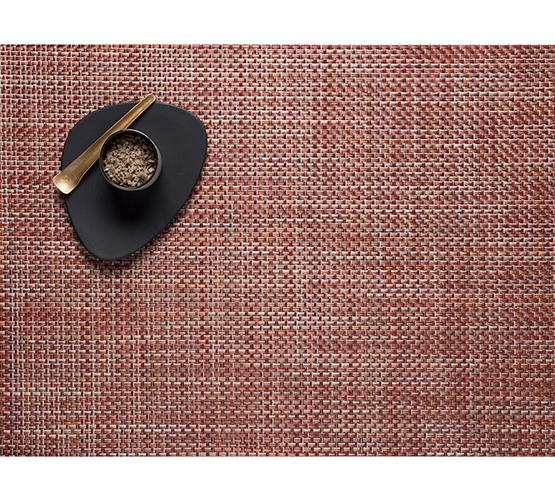 Chilewich, Basketweave placemat, rectangle - multiple colors, Bark- Placewares