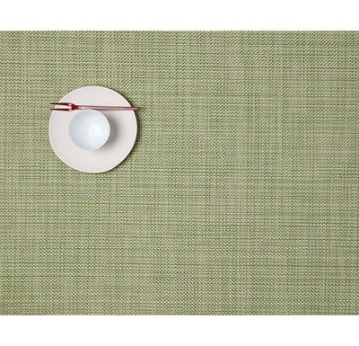 Chilewich, Mini Basketweave placemat, rectangle - multiple colors, Dill- Placewares