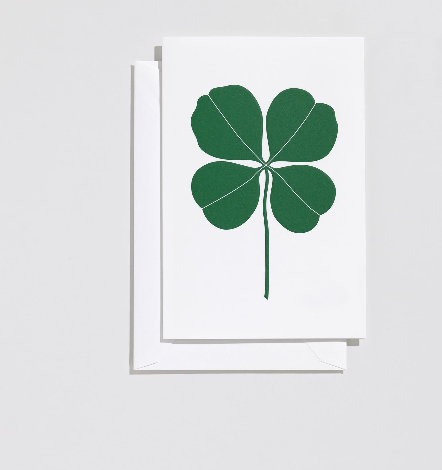 Vitra, Four Leaf Clover Greeting Card, - Placewares