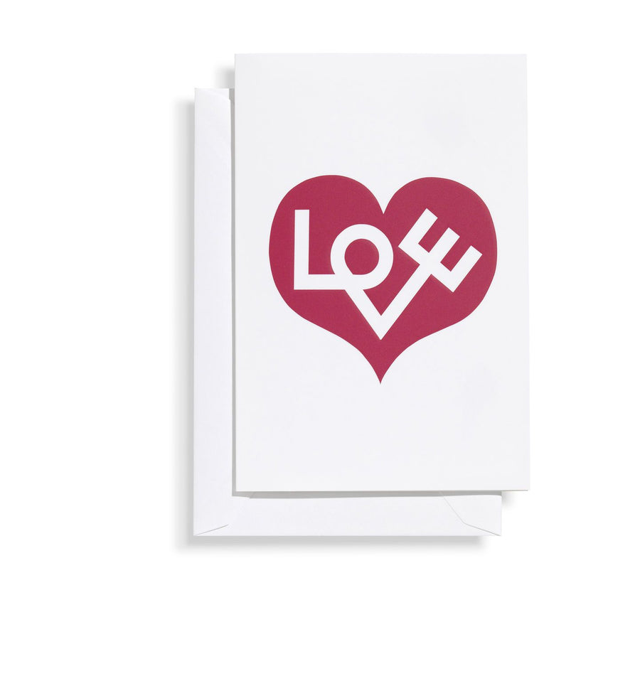 Vitra, Love Heart Greeting Card, - Placewares