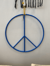ALL ROADS, All Roads Peace Sign - Royal Blue, 17 in., - Placewares