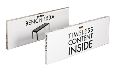 Artek, Bench 153A Natural, - Placewares