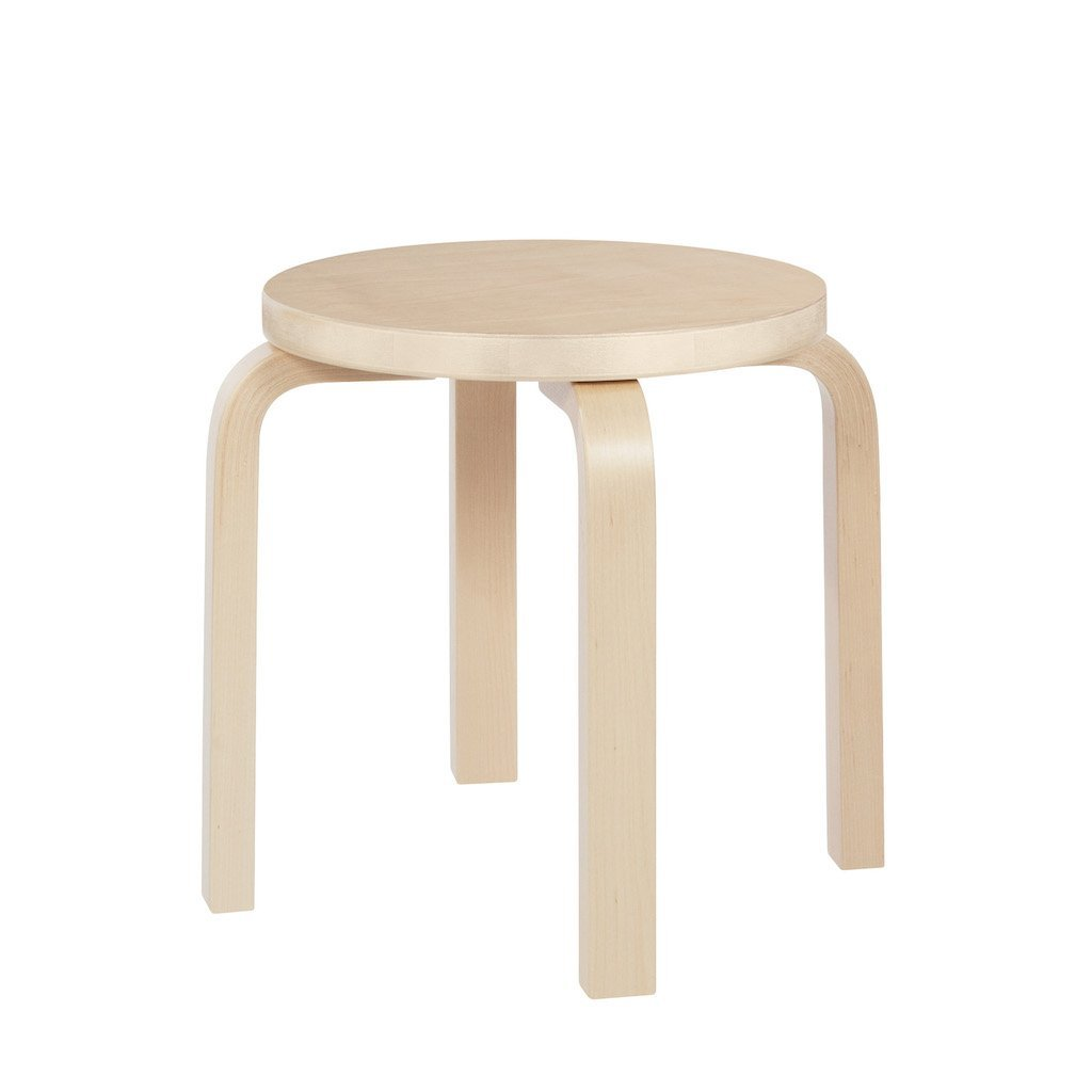 Artek, Stool NE60 Birch Veneer, - Placewares