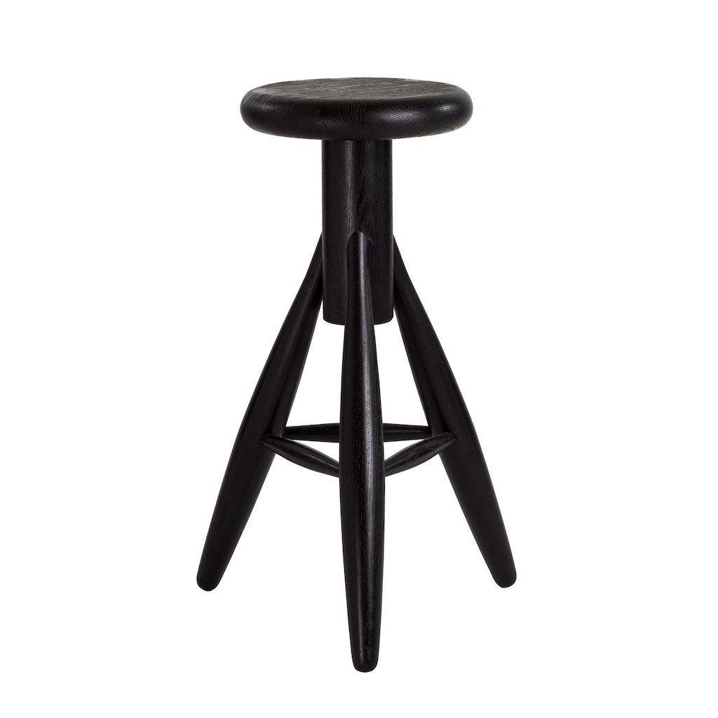 Artek, Rocket High Stool, Black, - Placewares