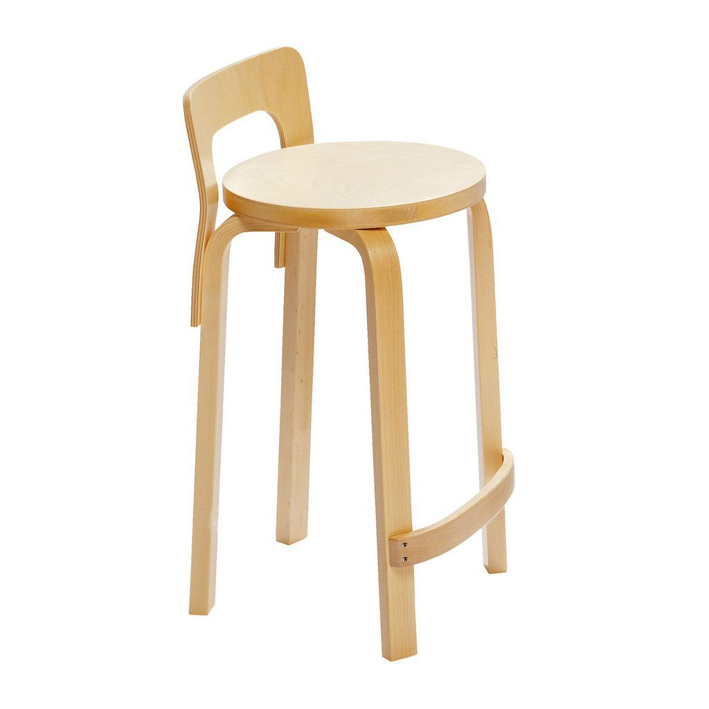 Artek, K65 High Chair Birch Veneer, - Placewares