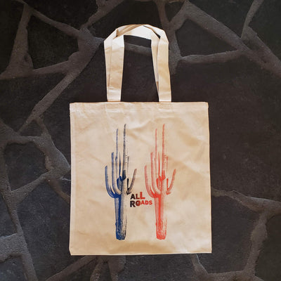 ALL ROADS, All Roads Saguaro  Gradient Tote, - Placewares