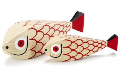 Vitra, Wooden Dolls Mother Fish & Child, - Placewares