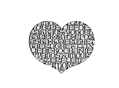 Vitra, International Love Heart Metal Wall Relief, - Placewares