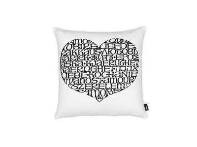 Vitra, International Love Heart Graphic Print Pillow, - Placewares