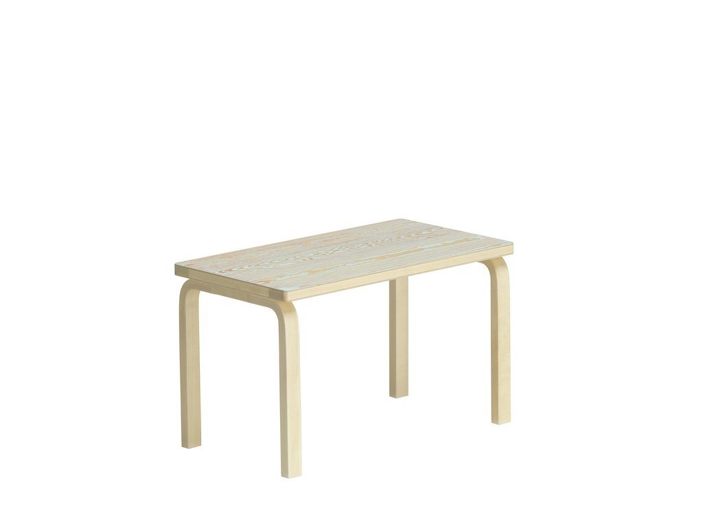 Artek, Bench 153B ColoRing, Red/Turqouise, - Placewares