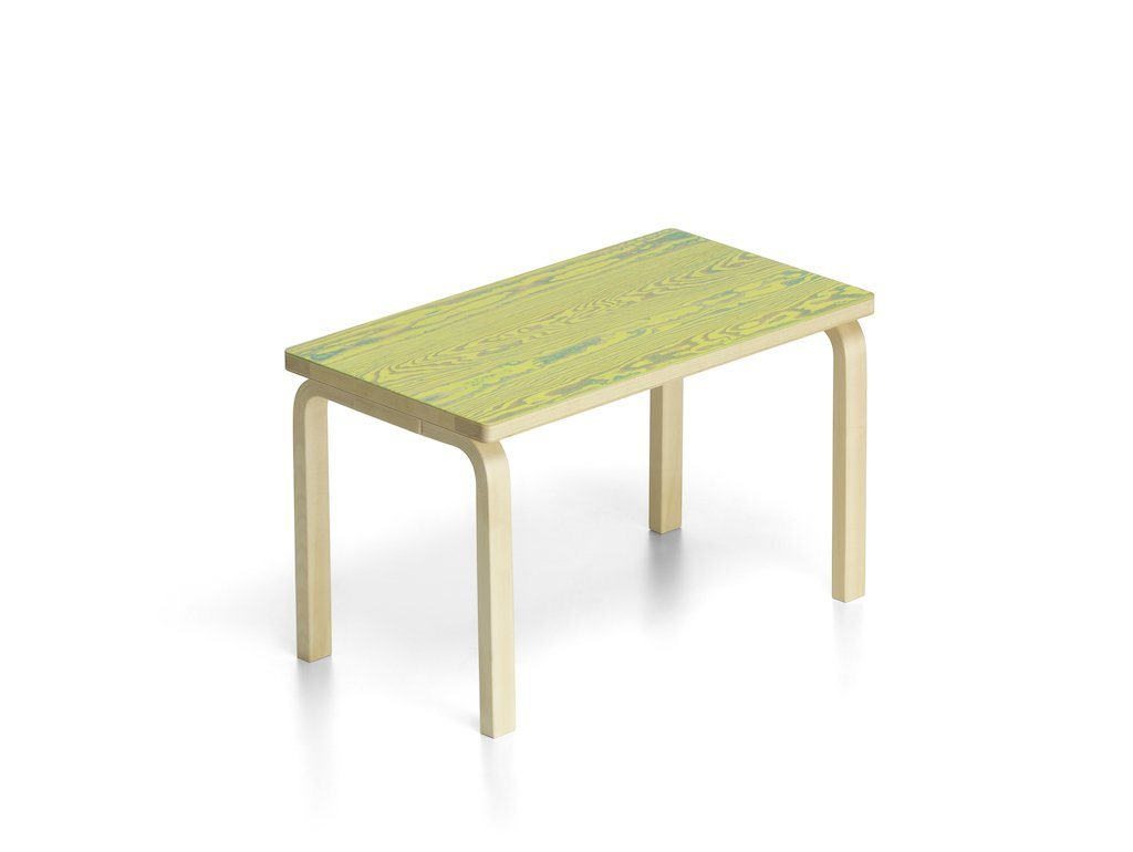 Artek, Bench 153B ColoRing, Green/Yellow, - Placewares