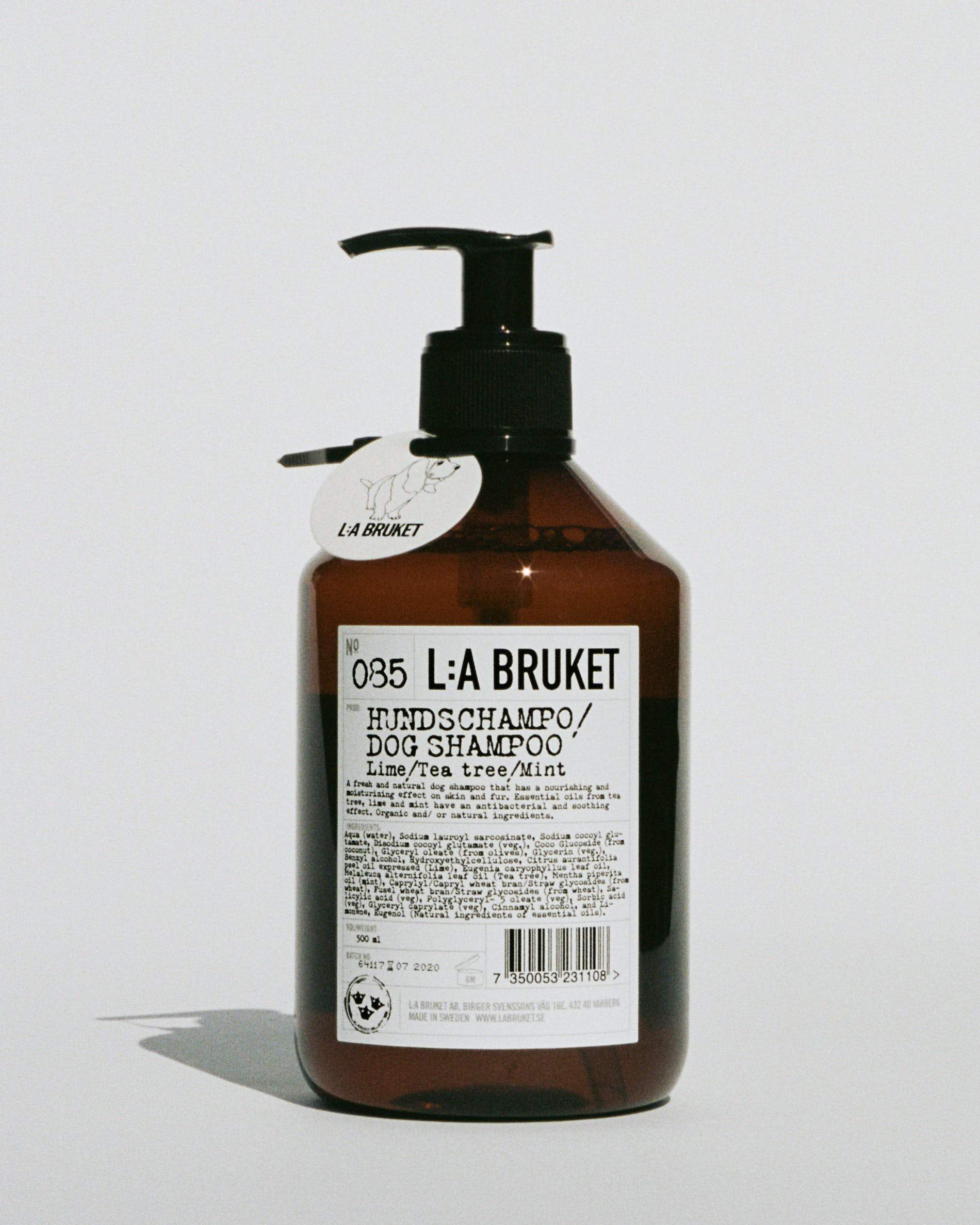 L:A Bruket, Dog Shampoo - Lime, Tea Tree & Mint, - Placewares