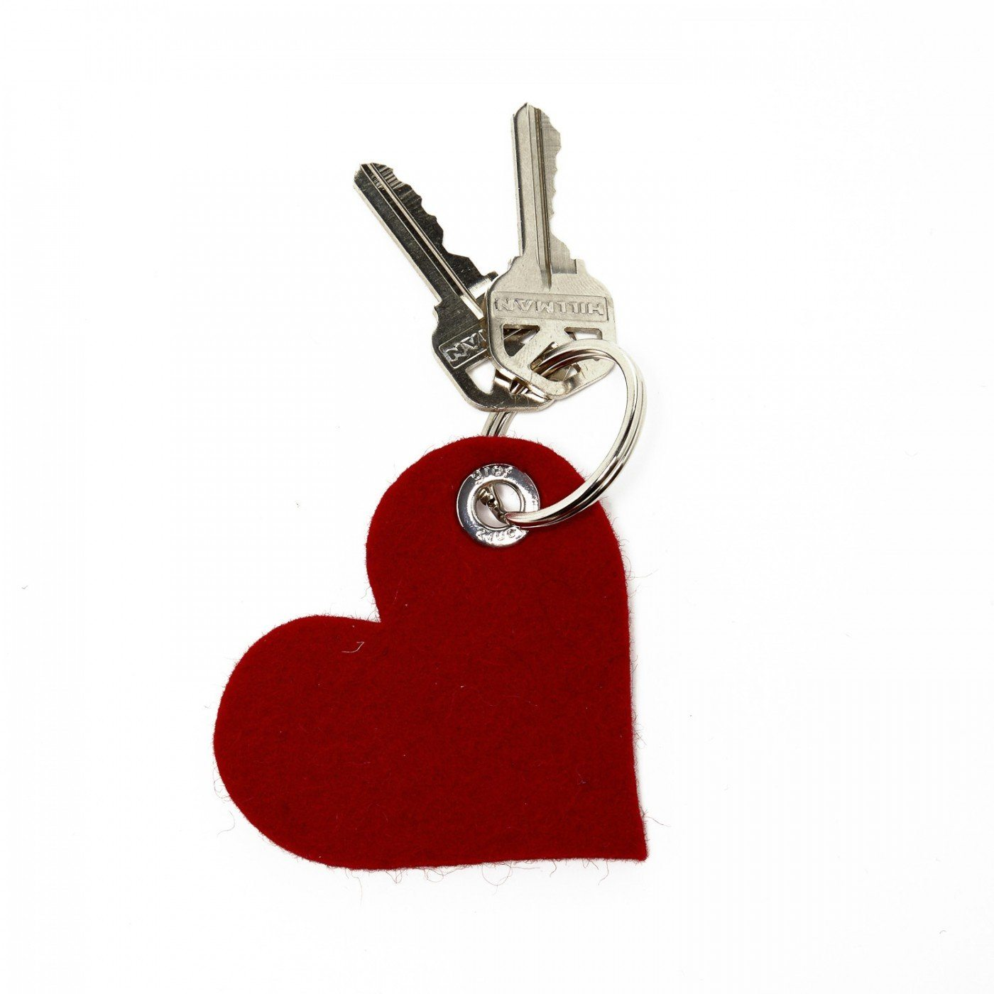 Graf Lantz, Heart Felt Key Fob, Red- Placewares