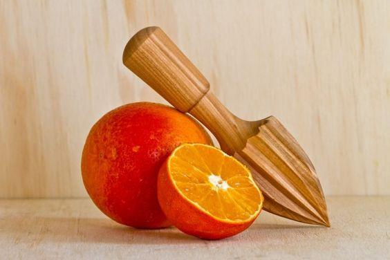 Alessi, Natural Wood Citrus Squeezer, - Placewares