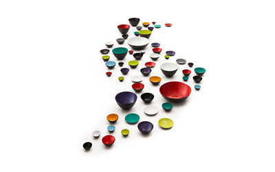 Normann Copenhagen, Krenit Bowl, 6.3 in - multiple colors, - Placewares