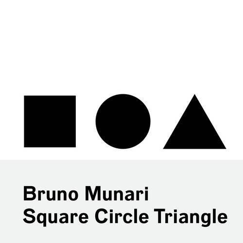 Chronicle Books, Bruno Munari: Square Circle Triangle, - Placewares