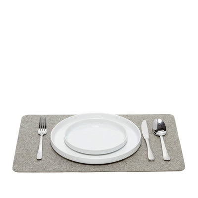 Graf Lantz, Felt Rectangle Placemats, Granite- Placewares