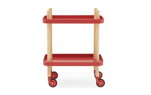 Normann Copenhagen, Block Table - multiple colors, Red- Placewares