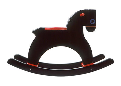 PlaySam, Rocking Horse, Black- Placewares
