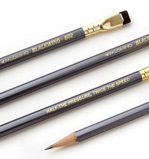 Blackwing, Blackwing 602 Pencil, Firm Graphite  - Set/12, - Placewares