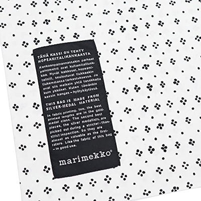 Marimekko, Kassi Hopeamitalikassi Cotton Bag, - Placewares