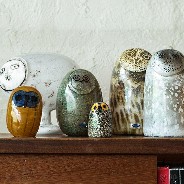 Iittala, Birds by Toikka - Little Barn Owl, - Placewares