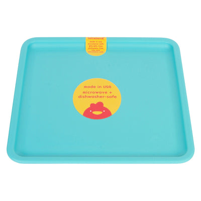 Lollaland, Mealtime Plates - multiple colors, Cool Turquoise- Placewares